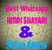 Whatsapp hindi shayari & status