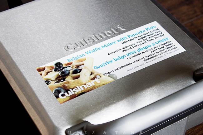 Jubes Tank Cuisinart Belgian Waffle Maker Waf 300