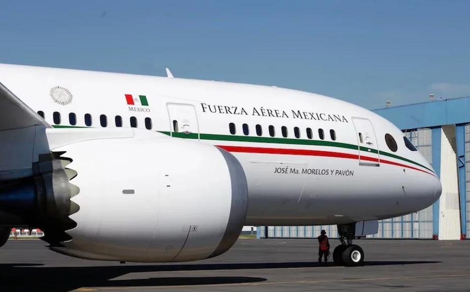 El Avión Presidencial regresa a México, las opciones son subastarlo o rentarlo