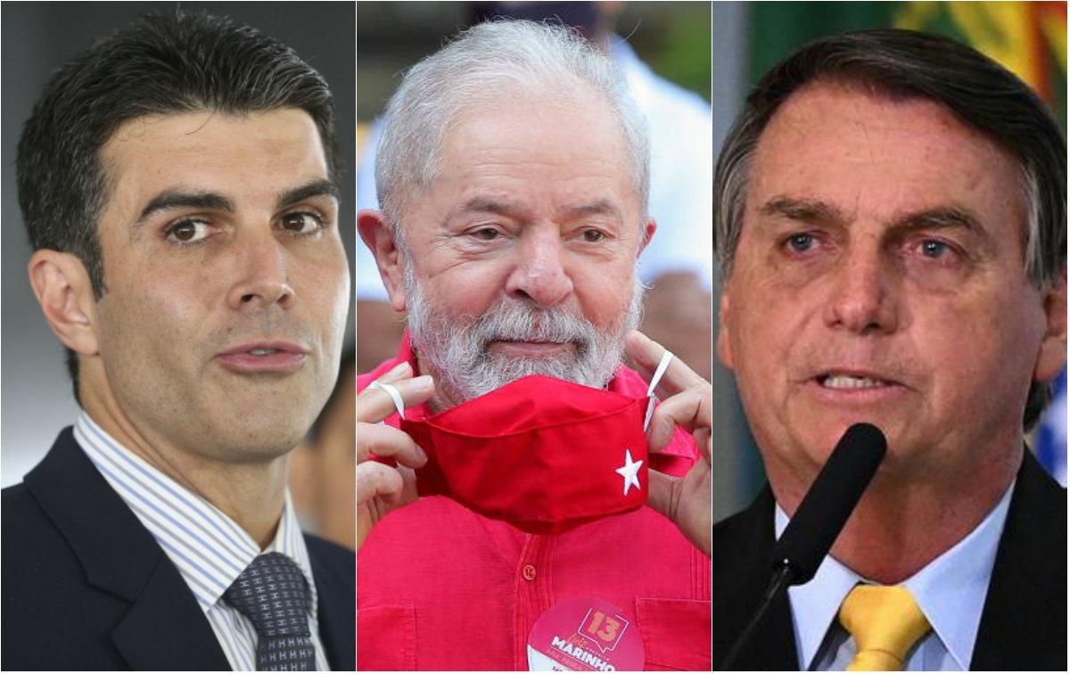 Potencial de voto com apoio de Helder, Lula e Bolsonaro no 2º turno em Santarém
