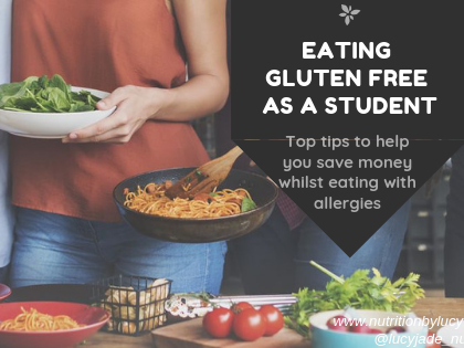 Tips to Eat Gluten Free on a Student Budget
