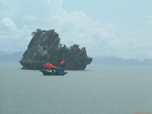 Halong majestic in rain 2