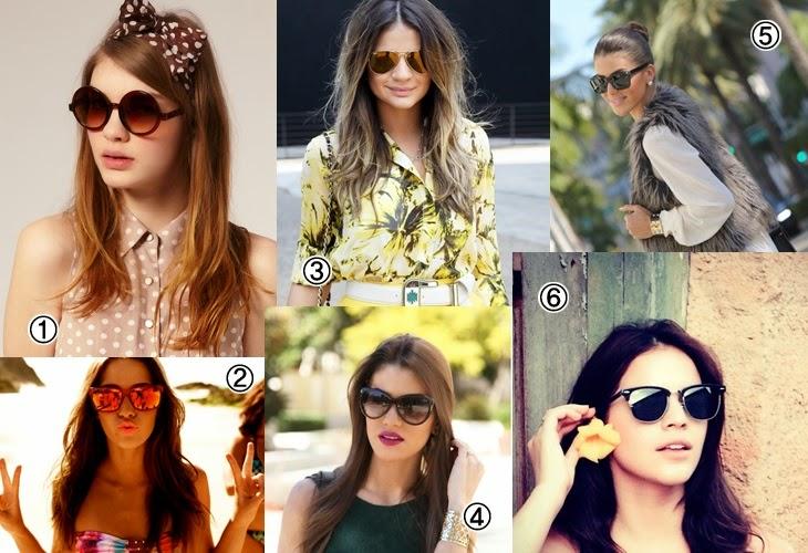 cd0836468 Buteco para Garotas : Tendências em óculos de sol para o verão 2015