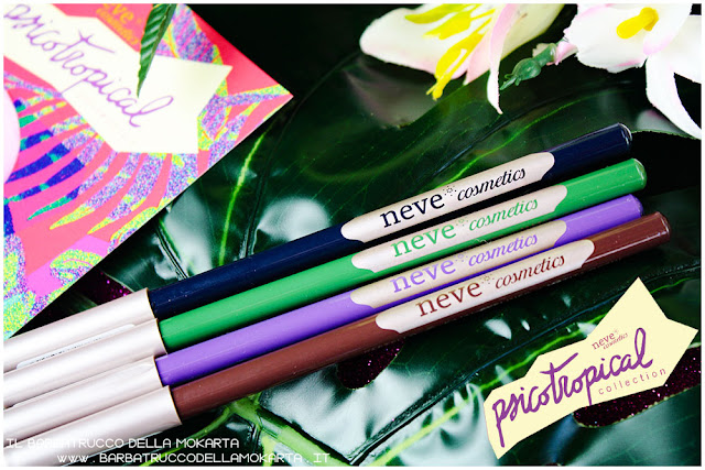 biopastello occhi eyepencil psicotropical collection neve cosmetics recensione