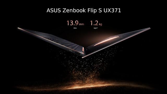 Laptop ASUS Zenbook Flip S UX371