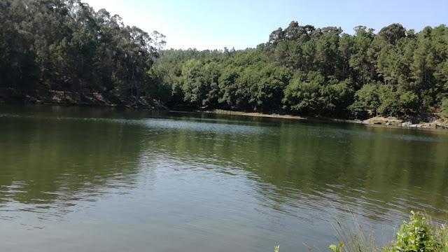 águas da Barragem da Queimadela