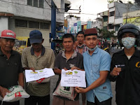 Lawan Covid19, Fakultas Pertanian UNA dan HKTI Bagikan Beras Ke Parbetor
