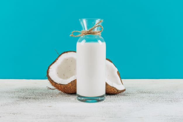What are the benefits of coconut milk for the body ?