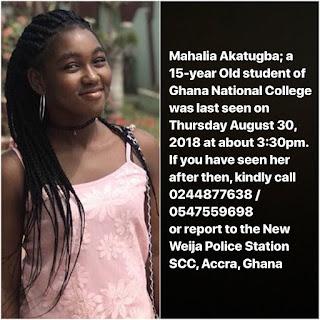 Nigerian Girl Missing