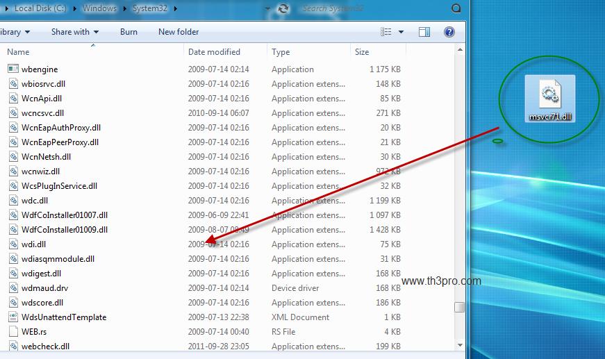 تحميل ملفات system32 ويندوز 7