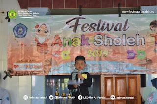 Festival Anak Sholeh 2019 (Wujudkan Generasi Religius, Unggul dan Berakhlakul Karimah)