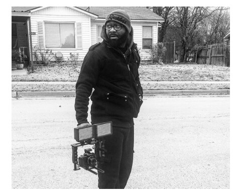 Nigerian rapper, 2shots is now a photographer in Texas (photos)