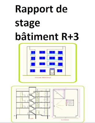 Projet de conception et de dimensionnement d'un immeuble R+3 en béton armé,