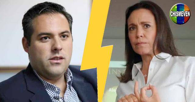 Goicoechea llamó populista a MariCori pero no habló de su millón de dólares