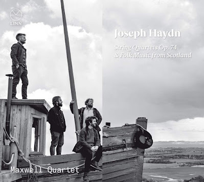 Haydn String Quartets Op.74, Folk music from Scotland; Maxwell Quartet; Linn Records