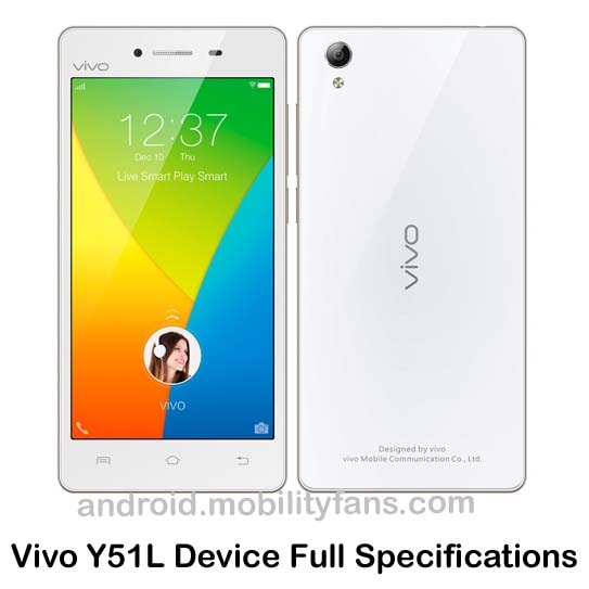 Vivo Y51L Device Specifications