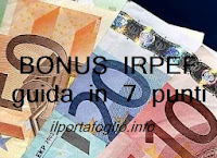 guida al bonus irpef in busta paga o pensione