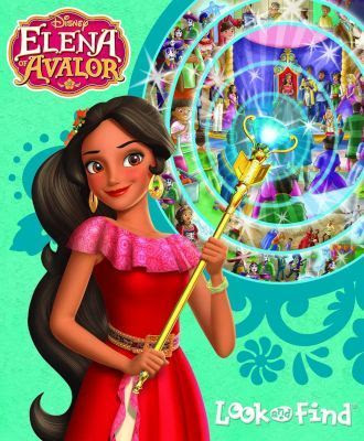 Elena of Avalor Look and Find Book
