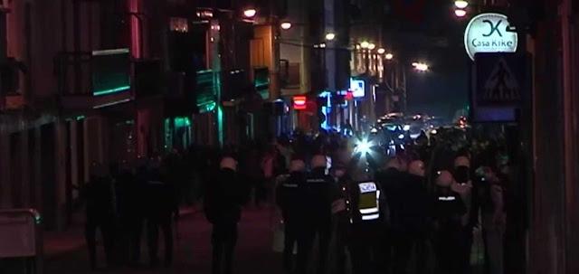 Protestas Linares. Imagen TV