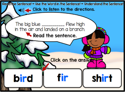 Letter Combination ir (Bossy r): Understand the Word!