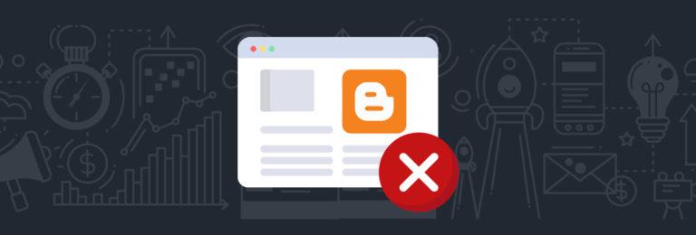 Kekurangan Platform Blogger