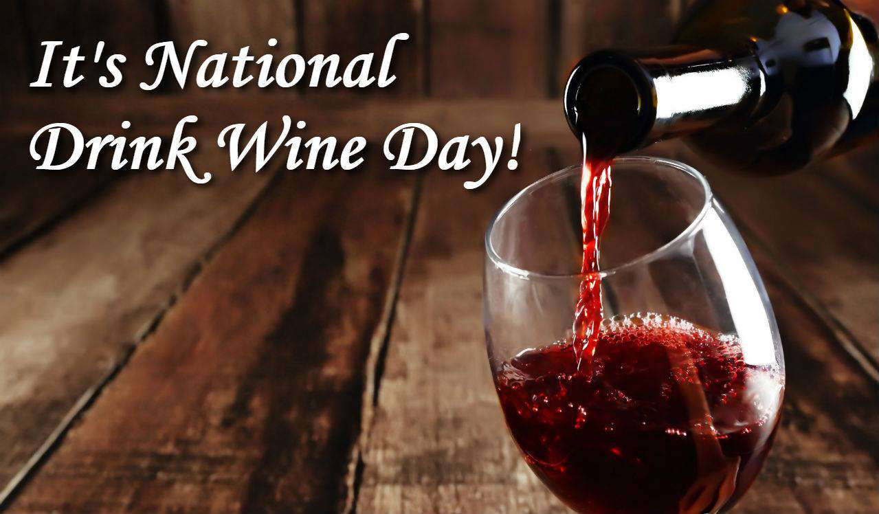 National Drink Wine Day Wishes For Facebook