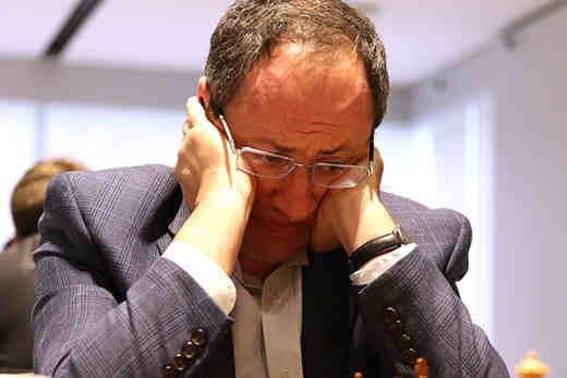 Une nulle suivie de 5 défaites consécutives pour l'Israélien Boris Gelfand transformé en punching-ball de service - Photo © site officiel