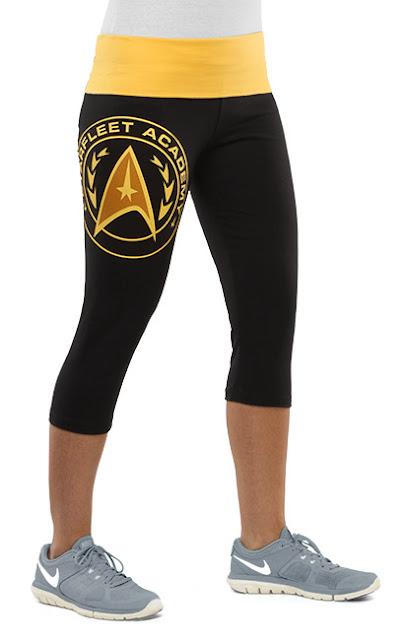 Starfleet Academy Capri Yoga Pants