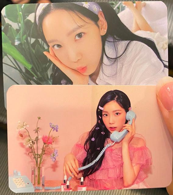 SNSD YoonA APieu Photocards