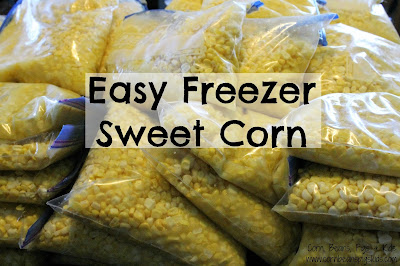 Throw a Sweet Corn Party with Easy Freezer Sweet Corn recipe #FarmersMarketWeek