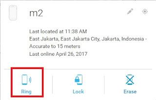 menggunakan android device manager