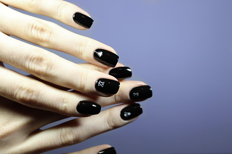 esmalte unhas preto antes depois blogueira disconto de born pretty loja