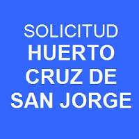 Solicitud Huerto Cruz de San Jorge