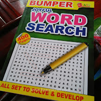 Buku word search 400 mukasurat