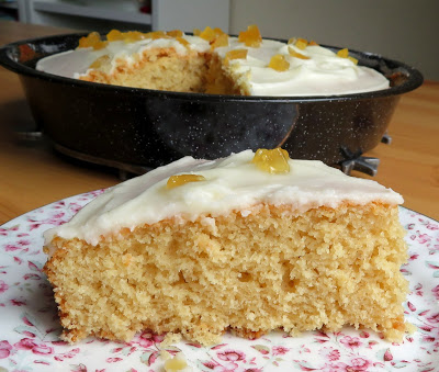 Lemon Ginger Snack Cake