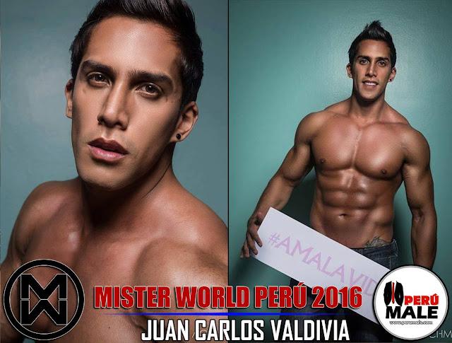 Ex candidato a Mister World Perú arrastra a novia