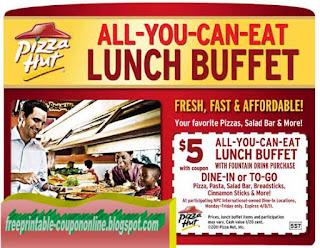 Free Printable Pizza Inn Coupons