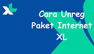 Cara Berhenti Paket Internet Kartu XL Terbaru