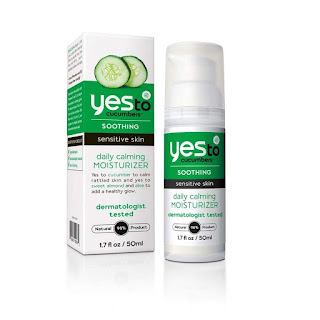 yes to cucumber calming daily moisturizer