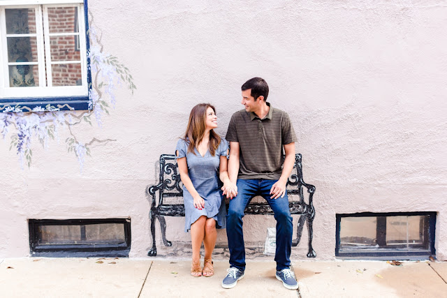 Downtown Annapolis Summer Engagement Session photographed by Maryland wedding photographer Heather Ryan Photography