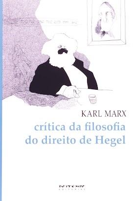 Crítica da Filosofia do Direito de Hegel - Karl Marx