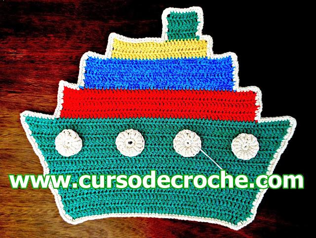 como fazer tapete de croche aprendercroche edinir-croche cursodecroche