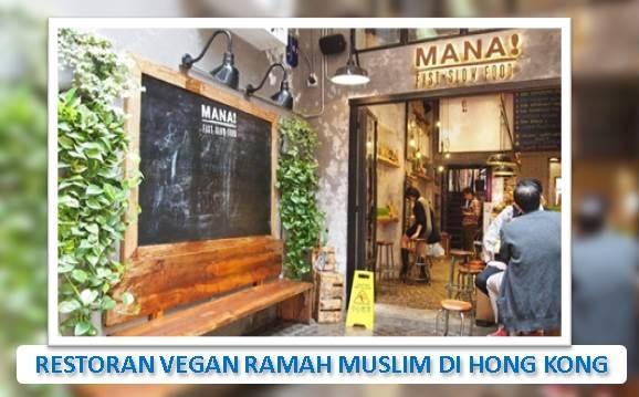 Restoran Vegan Ramah Muslim di Hong Kong