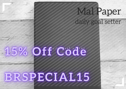 Mal Paper discount Code for Planner