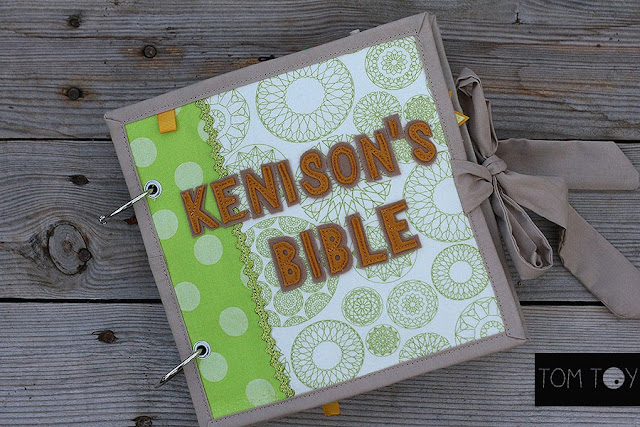 Kenison's Bible quiet book handmade by TomToy