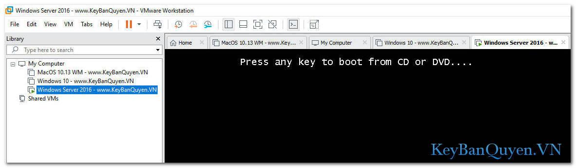 Hướng dẫn phân vùng ổ cứng ( Fdisk ) trên máy ảo.