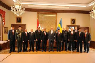 Delegasi Indonesia di Swedia