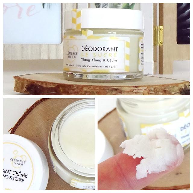 Baume déodorant - Le sucré - Clémence et Vivien