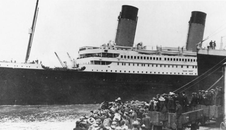 Titanicin Reitti