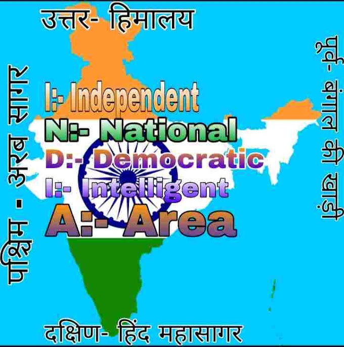 INDIA ka full form । भारत का मूल अर्थ क्या है?